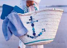 Inspiration- Nautical Buttoned Bag