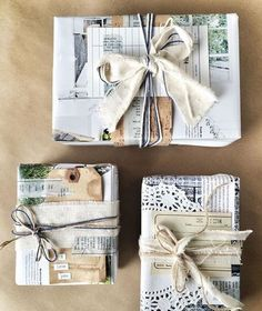 Eco-Friendly Holiday Gift Wrap by Guest Artist Vanessa Spencer Need some quick gift-wrapping ideas for your Christmas presents? Join us for a bit of holiday inspiration with guest artist Vanessa Spencer. Wrapping Ideas, Creative Gift Wrapping, Creative Gifts, Wrapping Gifts, Christmas Gift Wrapping, Diy Christmas Gifts, Holiday Gifts, Christmas Yarn, Kids Christmas