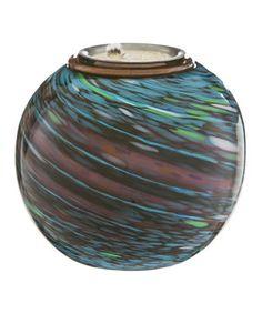 Another great find on #zulily! Metallic Spirals Glass Firepot by  #zulilyfinds