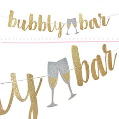 Bachelorette Decorations | Bubbly Bar Sign | Bachelorette Party Decoration | Bachelorette Banner | Bridal Shower | Hens Night | Hen Party
