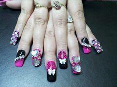 kAoTik Nail Designs by April Davidson, 559-908-1867. Add me on Facebook www.facebook.com/