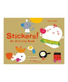 This Stickers! Activity Book is perfect! #zulilyfinds