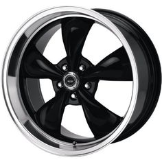American Racing Torq Thrust M 17x7 Black Wheel / Rim 5x4.5 with a 0mm Offset and a 72.60 Hub Bore. Partnumber AR105M7765B Automotive