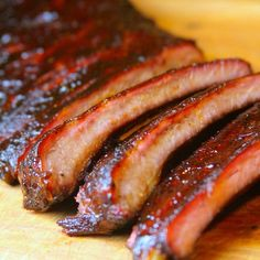 Award Winning Competition Ribs With Mustard, Dry Rub, Honey, Sugar, Apple Juice and BBQ Sauce
