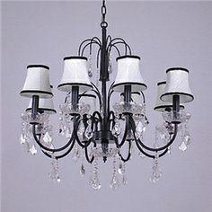 Ceiling Lights - Chandeliers - Crystal Chandeliers - Crystal Ceiling Light with 8 Lights