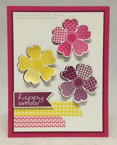 Washi Tape in a Flower Shop by ccc - Cards and Paper Crafts at Splitcoaststampers
