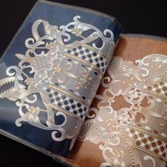 @tetewedding パーチメントクラフトのブックカバー☆ #parchmentcraft #craft #papercraft #パーチメント…