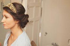 coronas de novia doradas - Buscar con Google