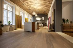 Overview of all references from mafi natural wood floors. See for yourself the benefits of using mafi natural wood floors in private as well as business areas! Natural Wood Flooring, Wood Stamp, Real Wood, Plank, Floors, Nature, Room, Furniture, Awesome