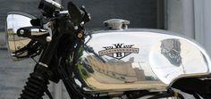 W650 Cafe Racer Aluminum Gas Tank