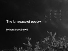 I am a great thinker. Poetry helps to communicate those lofty and esoteric thoughts. Poetry Lessons, Poetry Quotes, Deep Poetry, Famous Poems, Great Thinkers, Poems Beautiful, Language, Relationship, Thoughts