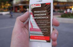 Serwis internetowy w RWD, kampanie pozycjonowania SEO oraz AdWords dla producenta opakowań kartonowych AM Mataśka