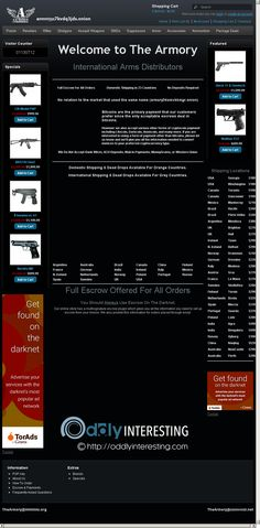 Weapon Vendor 3 | The Latest Oddities Revolver Rifle, Dark Net, First Site, Weapons, Weapons Guns, Guns, Weapon