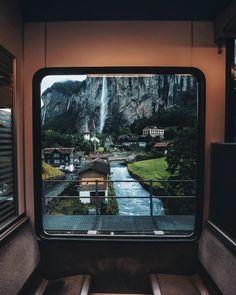 Time Travel, Switzerland, Aquarium, Waterfall, Wanderlust, Cabin, River, Vacation, Adventure