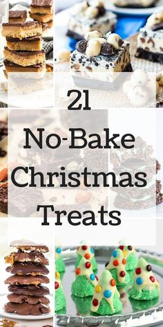 Easy cookies, candies, bars and pies for those who can't bake!
