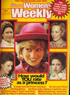 How would you rate as a Princess? From our May 1982 issue.