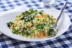 Przepis na kuskus z cukinią i brokułem | WINIARY