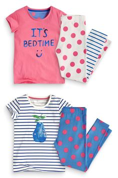 Buy Two Pack Pear Leggings Pyjamas (12mths-16yrs) from the Next UK online shop