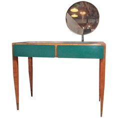 I'd love this in my home - beginning to see the inspiration here for lots of other, later, designs.  Reportedly Art Deco but atypical of the period