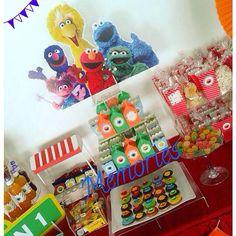 Plaza Sesamo Candy Bar