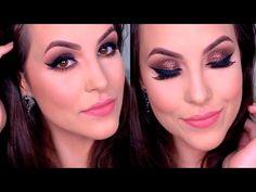 Maquiagem Outono Inverno #2 Usando NOVA Paleta Bitarra - YouTube