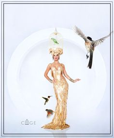 Golden cage costume created by SHAI TOUBOUL DESIGN Promote by MultiTalent ltd - stage, art & fashion Productions Company, for luxury private & business events For more exhibits you can visit: ex.MultiTalentltd... For more events entertainment enjoy: MultiTalentltd.com / Photogeapher: Asaf Eini / Model: Maayan Kvili /  Make up: Hany Shalom / Costume design: Shai Touboul / #shaitouboul, #luxuryevnts, #multitalentltd, #artstagefashion, #costumedesign, #golden, #cage, #birds, #sexy /