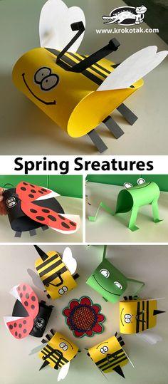 krokotak   Spring Creatures