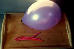 Nadmuchiwanie balonów.
