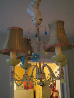 happy chandelier | Flickr - Photo Sharing! - Nicole Hill confetti garden