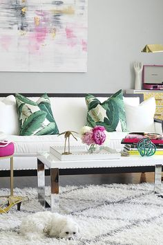 My Summer Pillow Picks from Stuck on Hue and a GIVEAWAY