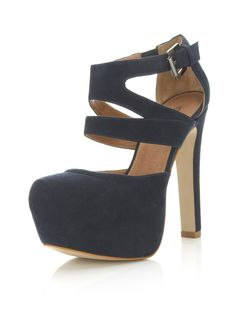 Maybe it's just me, but a navy shoe always catches my eye. $90