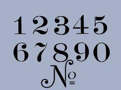 Free Printable Number Stencils Designs | 300 18 kb jpeg ccn0071 stencil font numbers stencils flickr photo ...