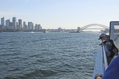 The unmistakable view of Sydney Harbour