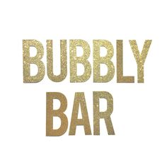Bubbly Bar Banner- Bachelorette Party Decoration