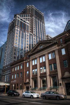 Buildings downtown Minneapolis.