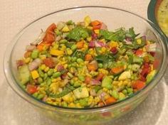 Edamame Salad, A recipe from Dinner is Served