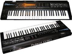"This is the Roland D-50 or better known as ""The Pad Machine"". It came out in 1987 and is famous for its wonderful pads, but it can do bass and leads just as well. D-50 is an all-digital synthesizer, but still it sounds analog and dirty. The D-50 was the first ever digital linear synthesizer to hit the market, whatever ""digital linear"" means... It makes sound using short PCM samples combined with a digital analog synth generator."