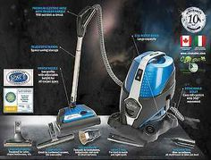 Sirena Water Vacuum, Water Air Purifier Filter ONLY WITH US 5 GIFTS VALUE $220