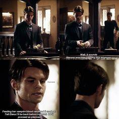 "511 To se mi líbí, 3 komentářů – TVD | TO | Elijah Mikaelson (@elijahsdaily) na Instagramu: ""TVD [2x20] Dick move by Damon feeding Elena his blood """