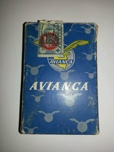Avianca Playing Cards