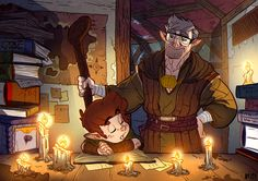 love this Dungeons Dungeons and Dungeons fan art!