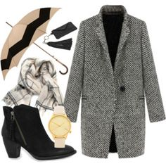"""Going for coffe"" by lufru on Polyvore"
