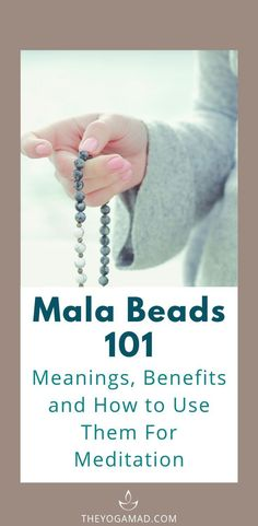 Mala Beads 101: Meanings, Benefits and How to Use Them For Meditation Mala beads, once used for religious practices, are now becoming popular as a fashion accessory. The meaning behind mala beads is deeply rooted in symbolic and spiritual practices. It is still used as a tool for meditation and various mindfulness practices.