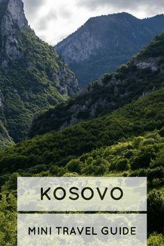 Rugova Valley in Peja, Kosovo
