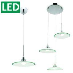 L2-1175 Mercator Topaz LED Pendant Light Fixture ML-6031 ML-6033