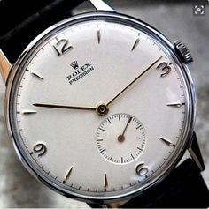 Rolex Precision Sub-Second 1948 Oversize
