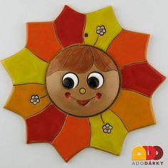 Air Dry Clay, Sculptures, Clock, Diy Crafts, Stars, Character, Cement, Sun Moon, Apollo