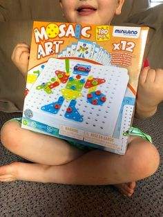 Is mosaic a lost art? Together with my 4 and sons, we put Miniland's Mosaic Art toy to the test to find out what this STEM toy offers. Lost Art, Mosaic Art, Educational Toys, Kids Toys, How To Find Out, Sons, Concept, Children, Creative