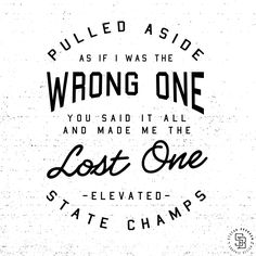 """State Champs - """"Elevated"""" 