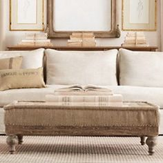 This will hopefully be my great room sometime soon. Restoration Hardware Belgian Classic Roll Arm sofa, deconstructed English Roll Arm chairs. The French Victorian Chaise is much appealing to my eye as well.
